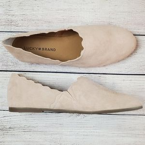 Lucky brand | NIB Cloeey flat, royal blush